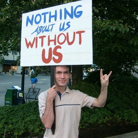 nothing about us